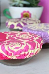 fabric bowl cover tutorial