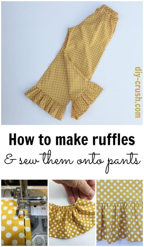 How To Make Ruffles
