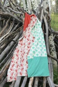 Knit Throw blanket tutorial