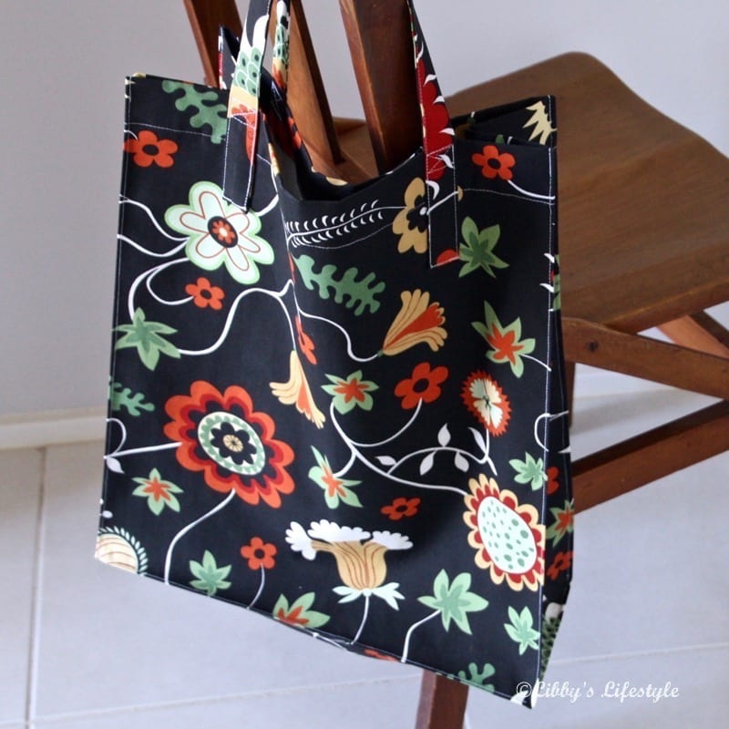 Shopping tote bag tutorial