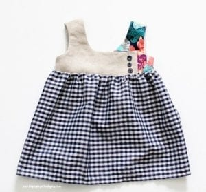 Dress for girls pattern