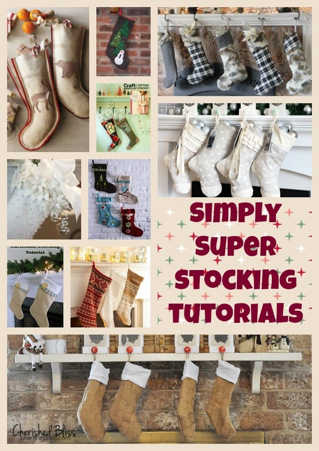 Christmas stocking tutorials