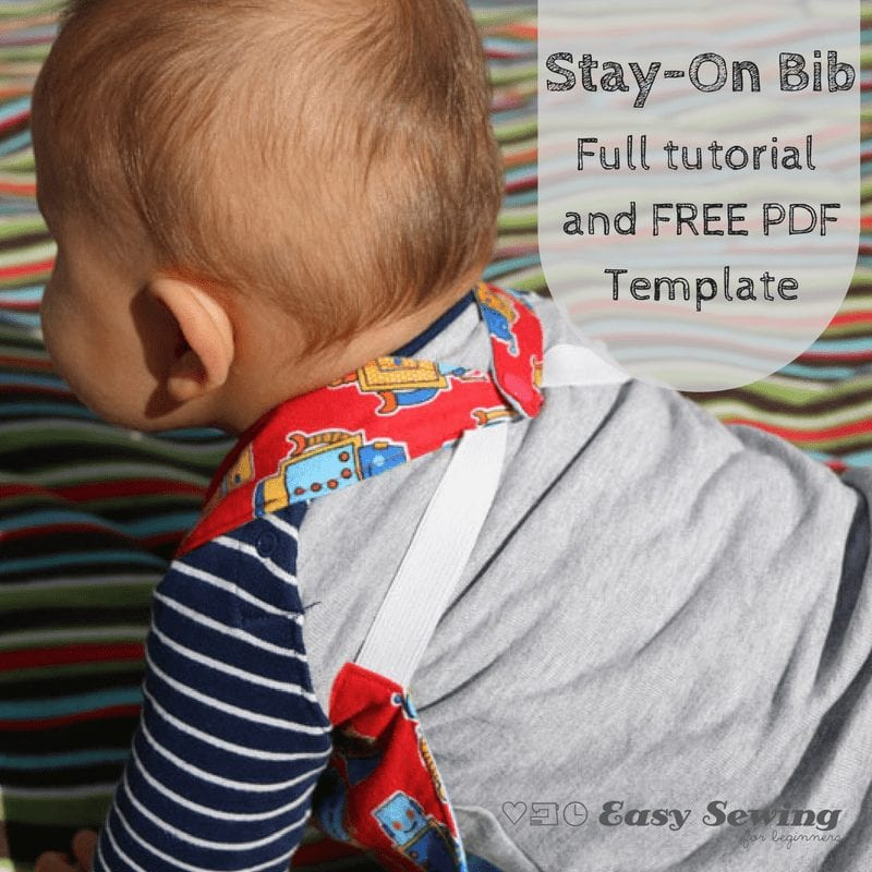 reversible stay on bib
