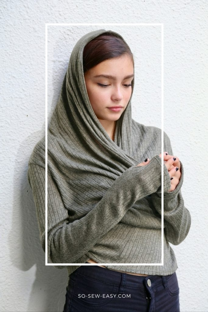 Transformable easy cardigan