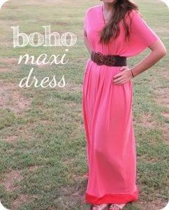 Boho Maxi Dress