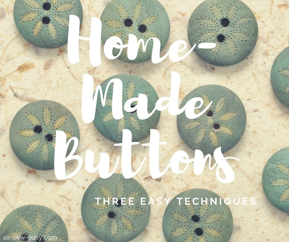 home-made buttons