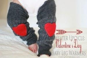 Sweater Baby Leg Warmers