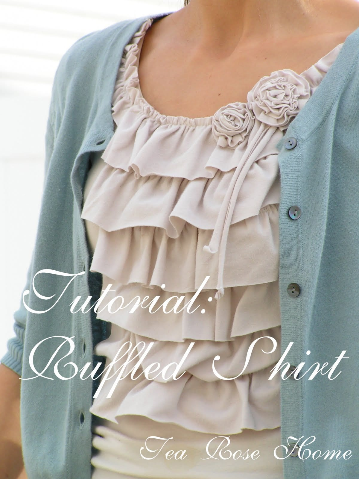 Ruffled Shirt