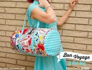 Bon Voyage Travel Duffel Bag