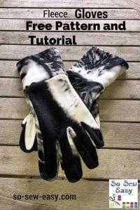 fleece gloves pattern