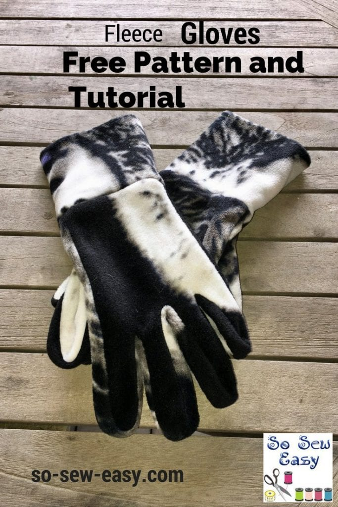 fleece gloves pattern