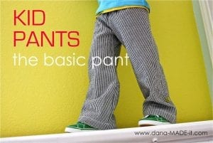 Basic Kid Pants