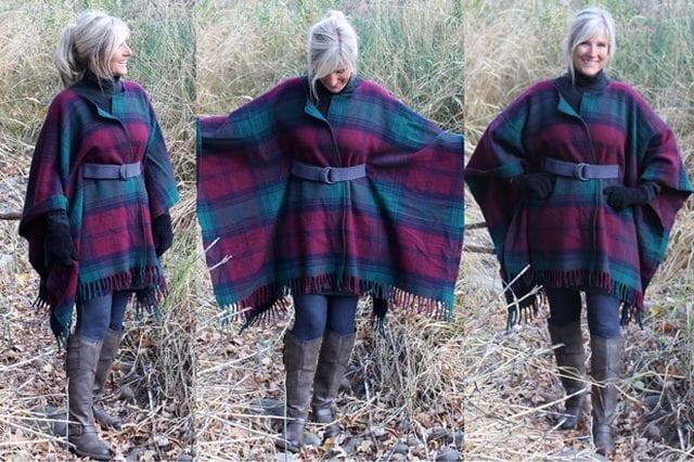 Wool Blanket Coat
