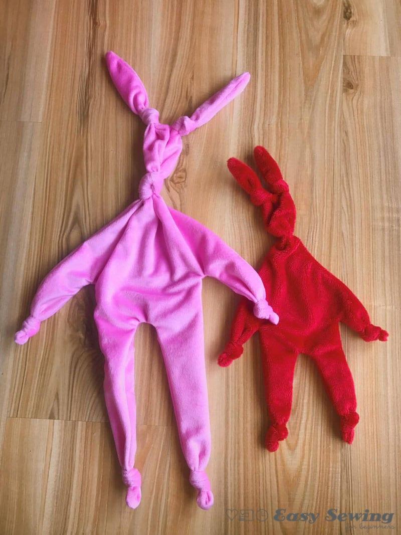 Knot Bunny Baby Comforter