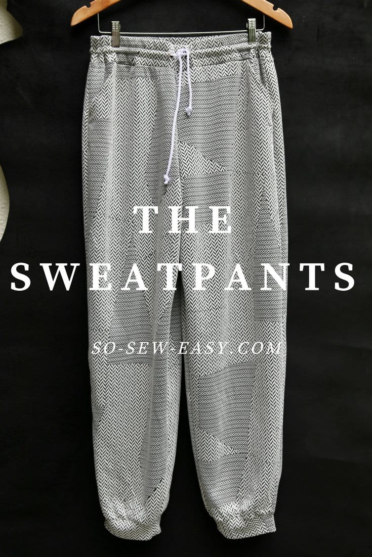 free sweatpants pattern