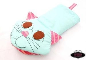 Meow Oven Mitts