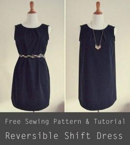 Reversible Shift Dress