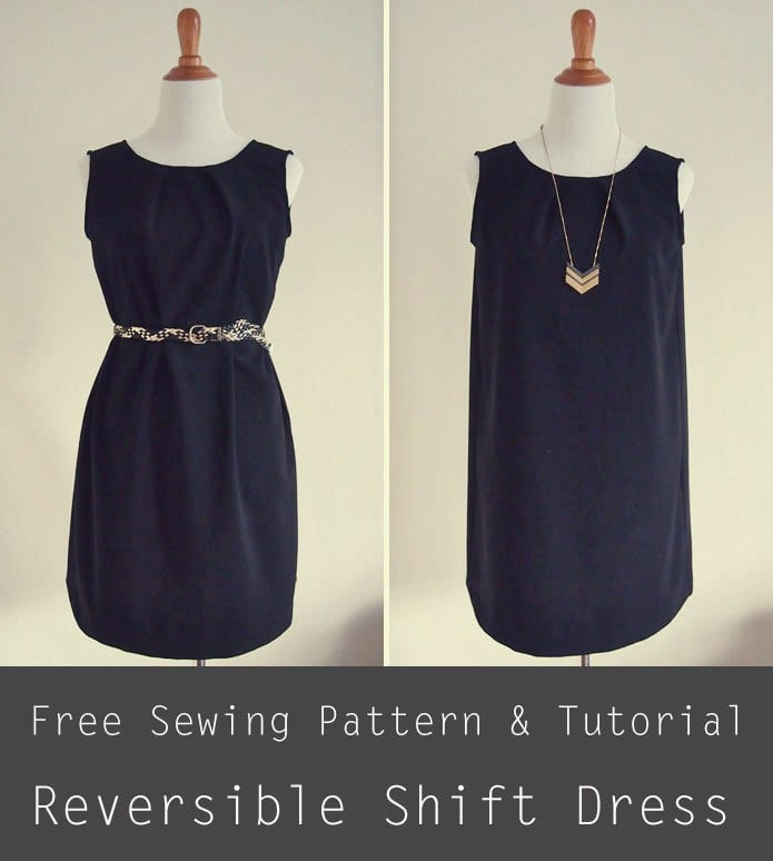 Reversible Shift Dress
