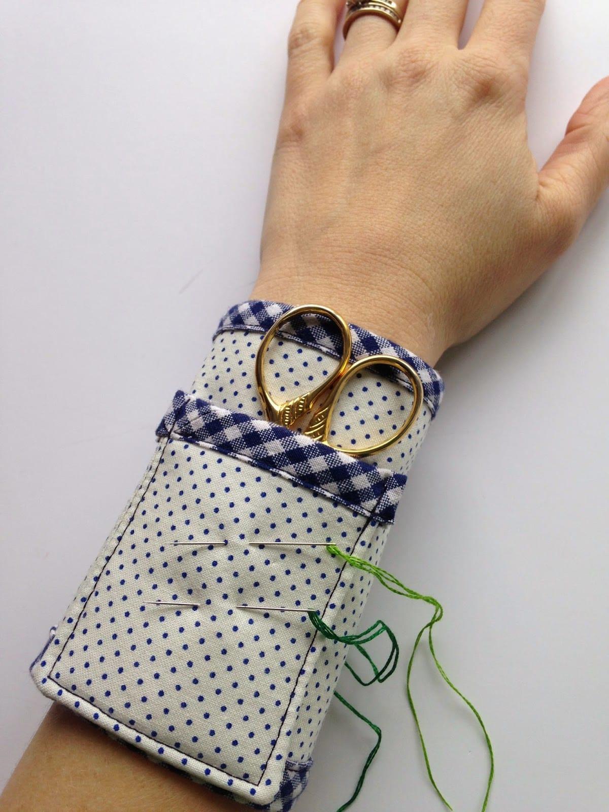 Embroidery Scissor Wrist Cuff