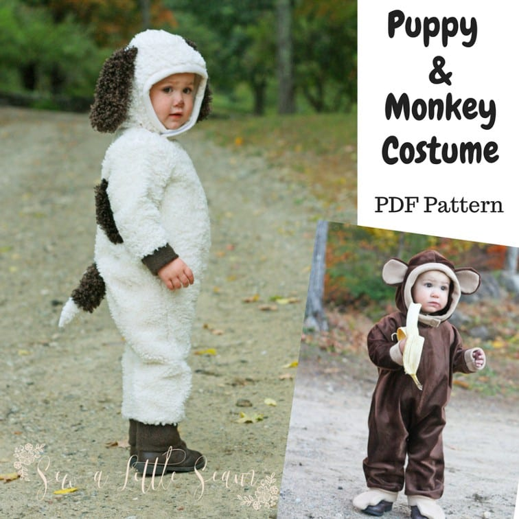 Puppy and Monkey Costume
