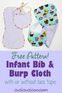 Bib and Burp Cloth