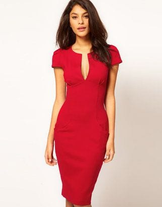 Shaped Trim Dress
