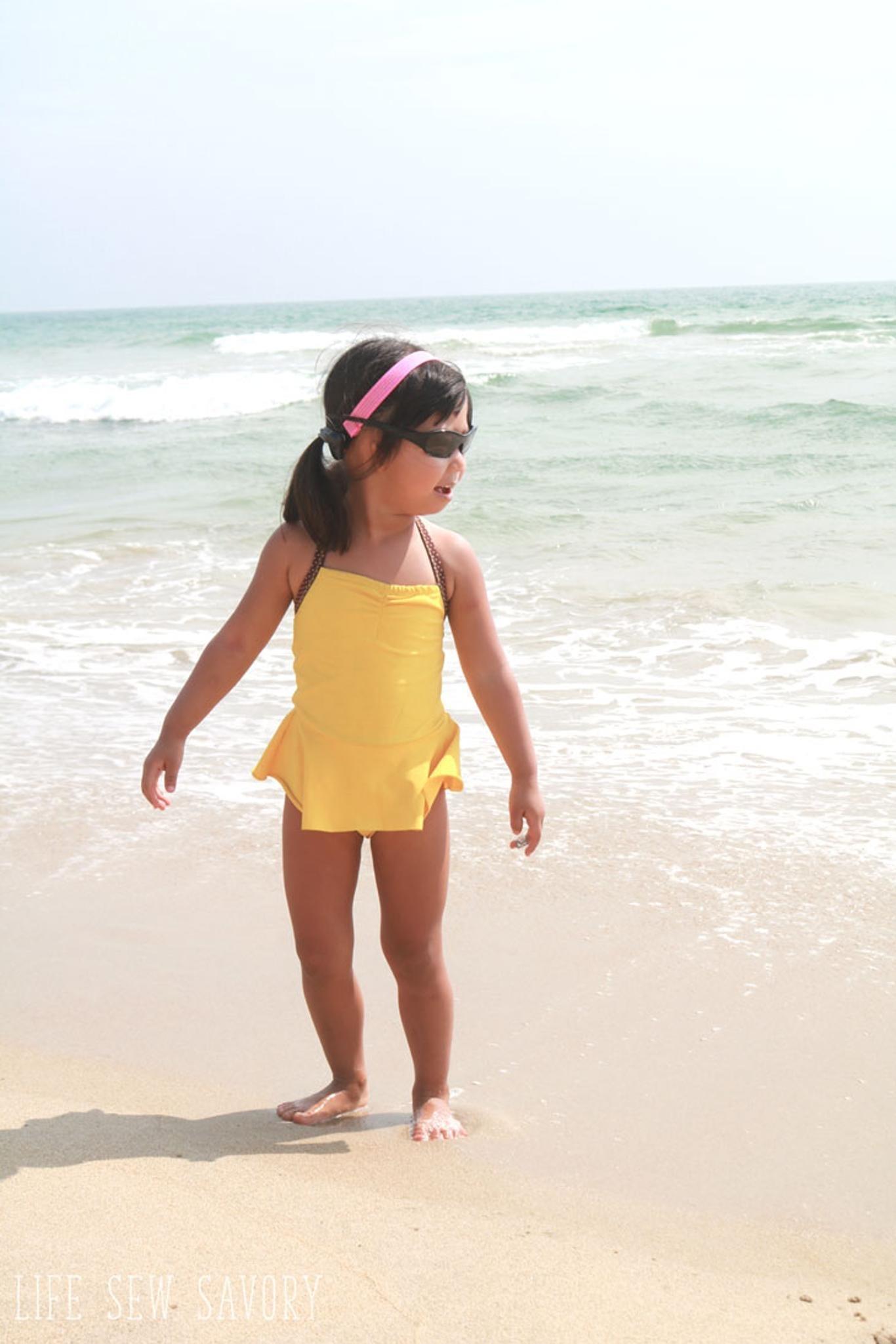 Toddler Swimsuit Pattern