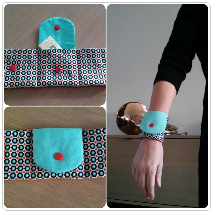 Free Pattern And Tutorial For Wrist Wallet Sewing 4 Free