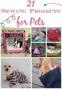 sew for your pets