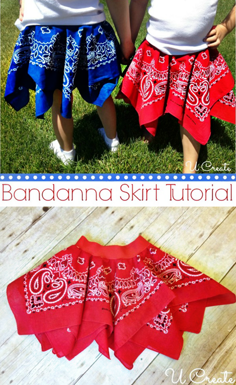 Bandanna Summer Skirt