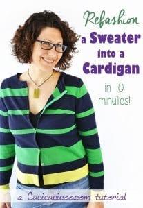 Refashion Sweater