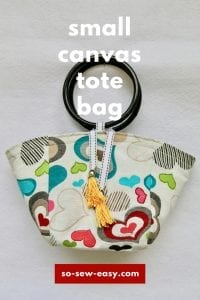canvas tote bag video tutorial