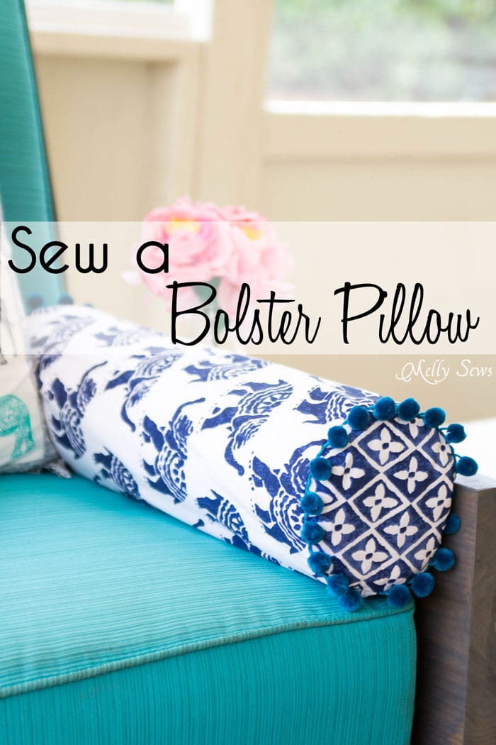 How To Sew A Bolster Pillow Free Tutorial Sewing 4 Free