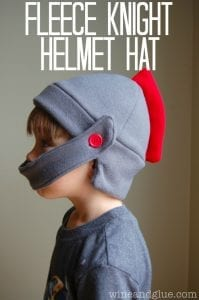 Fleece Knight Helmet Hat