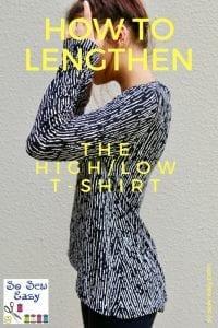 High Low Tshirt