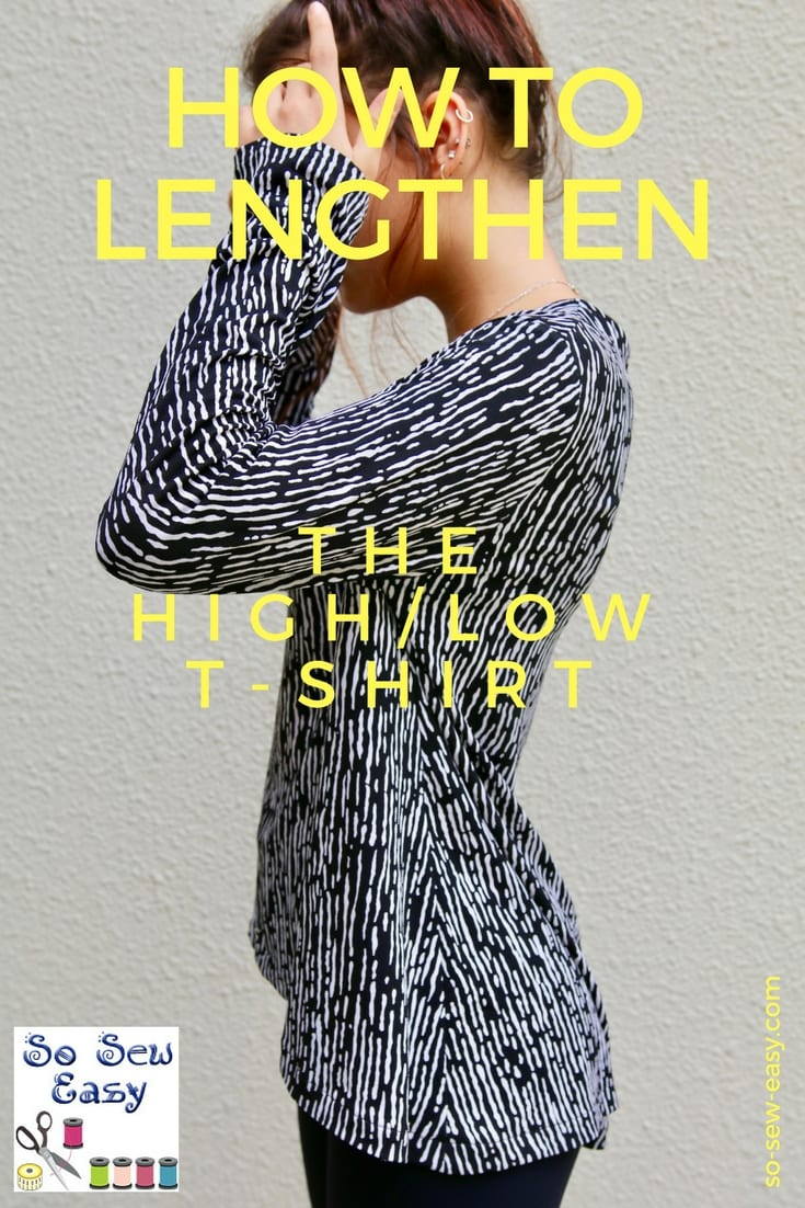 Hi-Low T-shirt