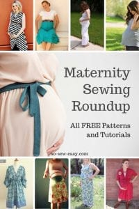 Maternity sewing patterns