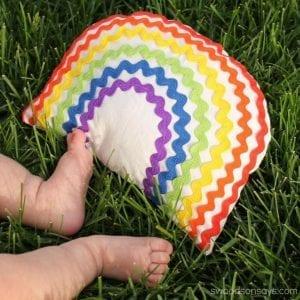 Rainbow Rattle Baby Toy