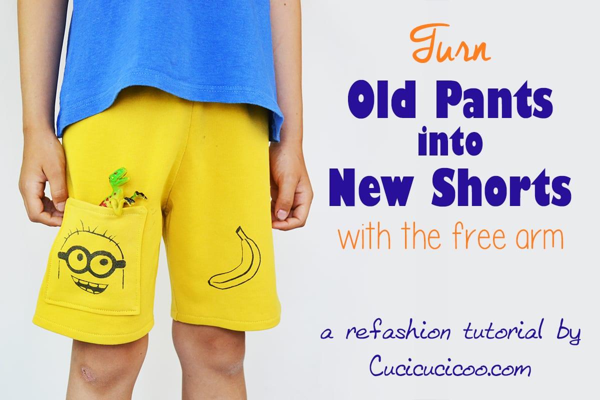 Refashion Old pants