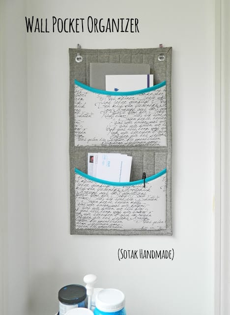 Wall Pocket Organizer