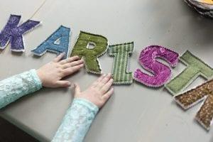 fabric alphabet