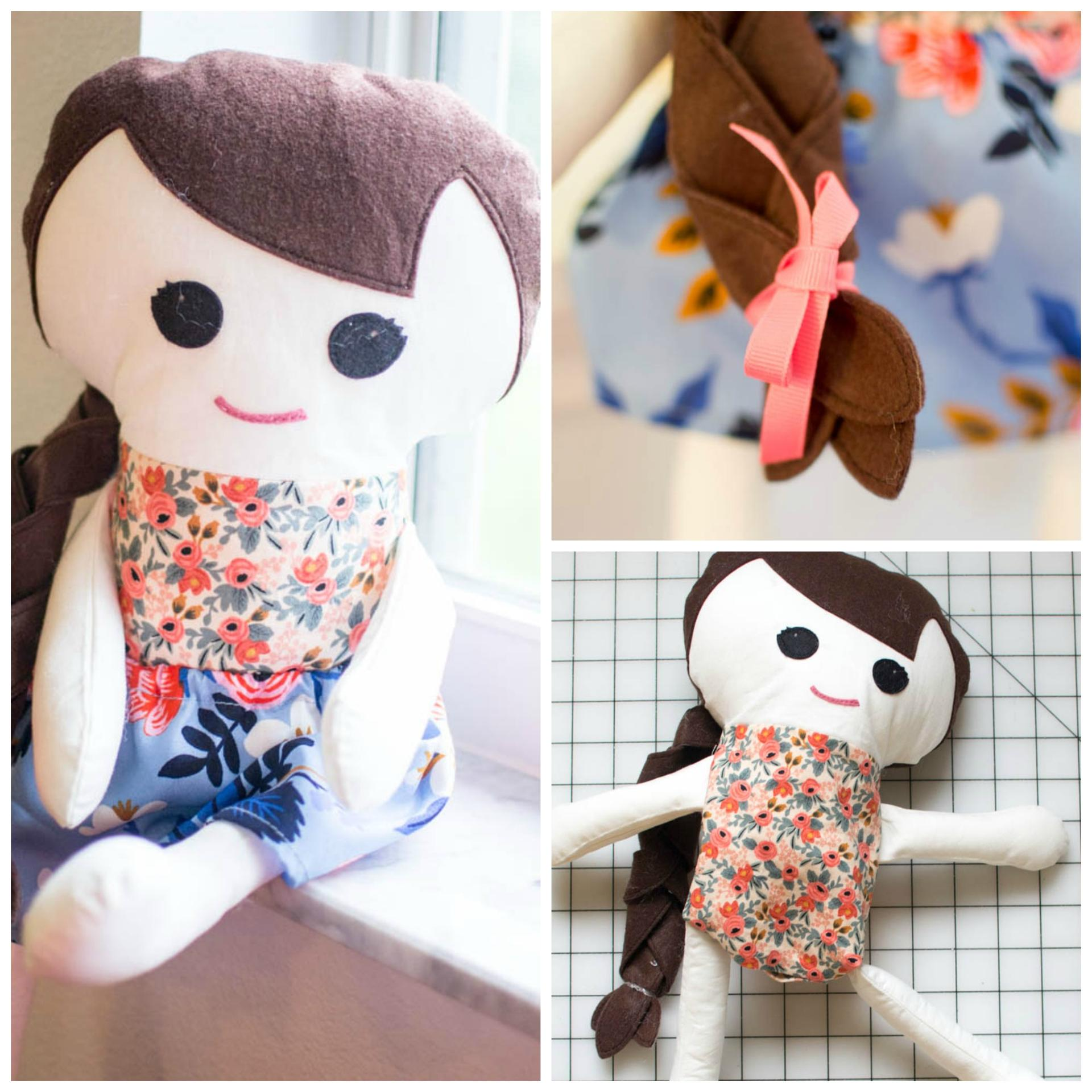 Katy Doll Free Sewing Pattern