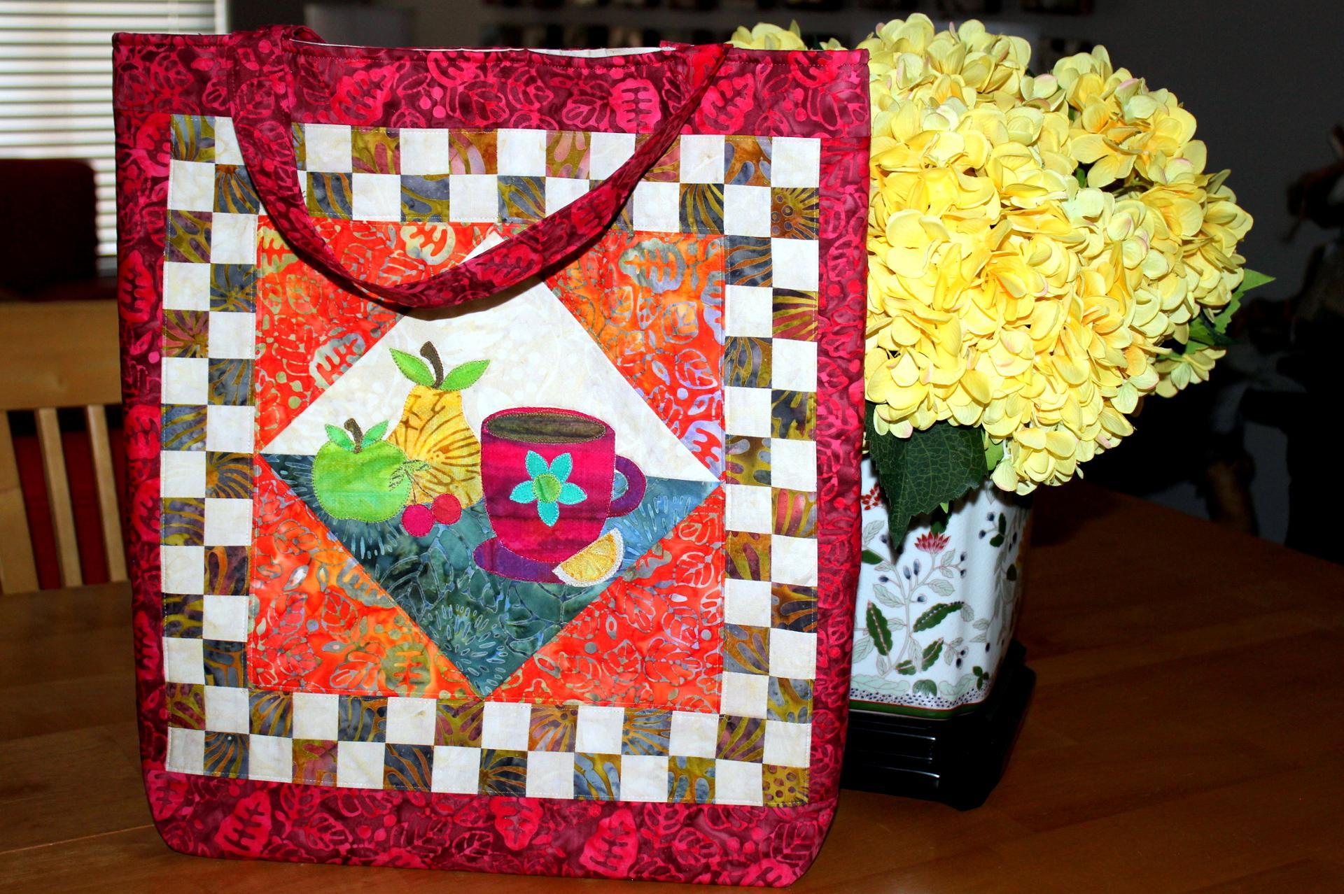 Square Bag FREE Sewing Pattern