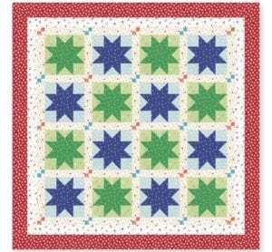 Confetti Star Quilt