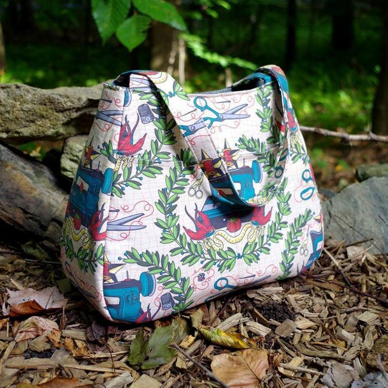 Swoon Ethel Tote Bag Free Sewing Pattern