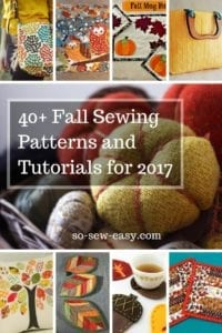 Fall Sewing Roundup