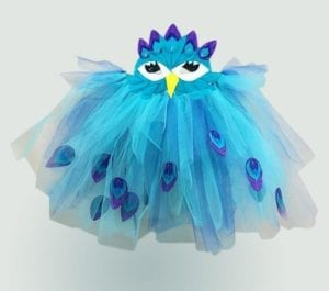 Peacock Costume free pattern