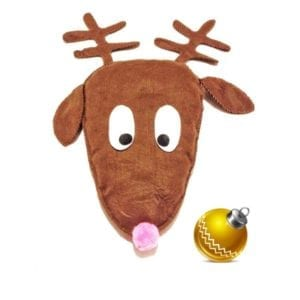 Rudolph Pillow FREE Sewing Pattern