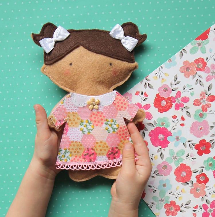 Felt Paper Doll