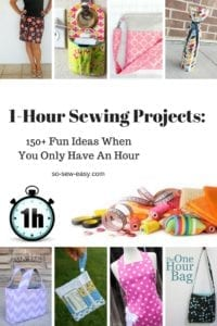 1-Hour Sewing Projects